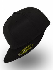 Flexfit by Yupoong Fitted Cap Zwart