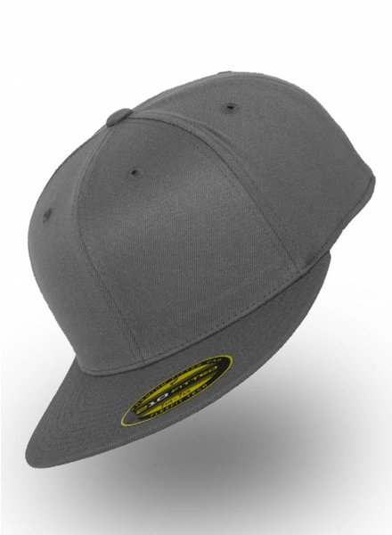 Flexfit by Yupoong Fitted Cap Dunkel Grau