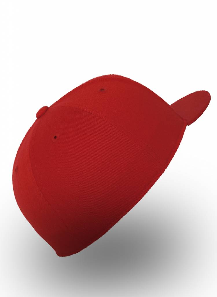 Flexfit by Yupoong Fitted Cap Rood