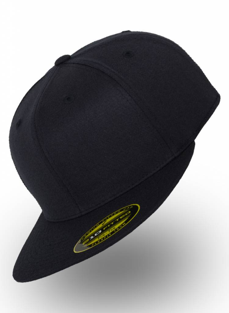 Flexfit by Yupoong Fitted Cap Dunkelblau