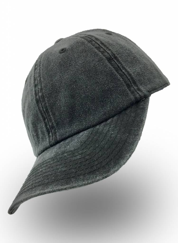 Go Urban Dad Cap Denim Black Washed