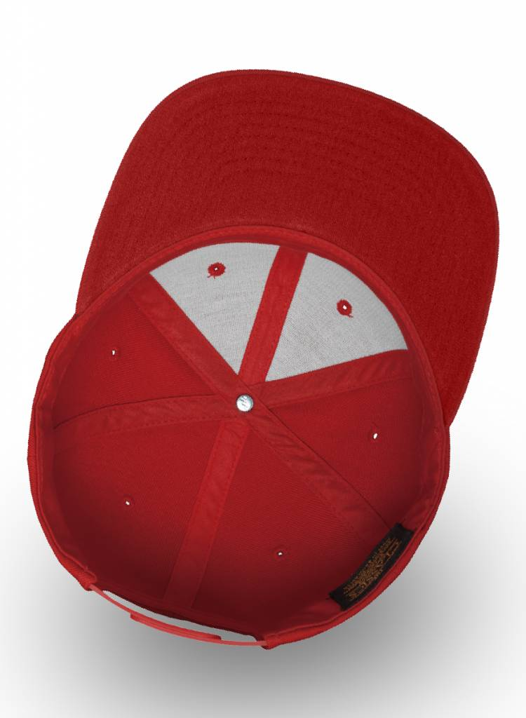 Flexfit by Yupoong Flexfit Snapback helemaal rood