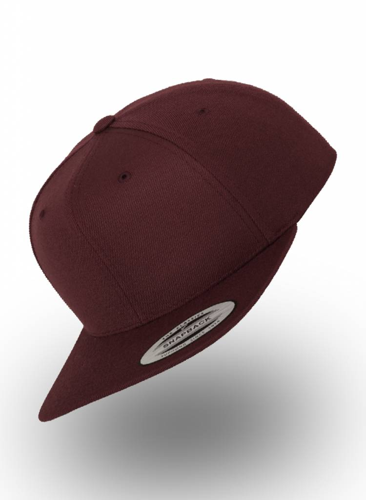 Flexfit by Yupoong Flexfit Snapback Volledig Bordeaux Rood