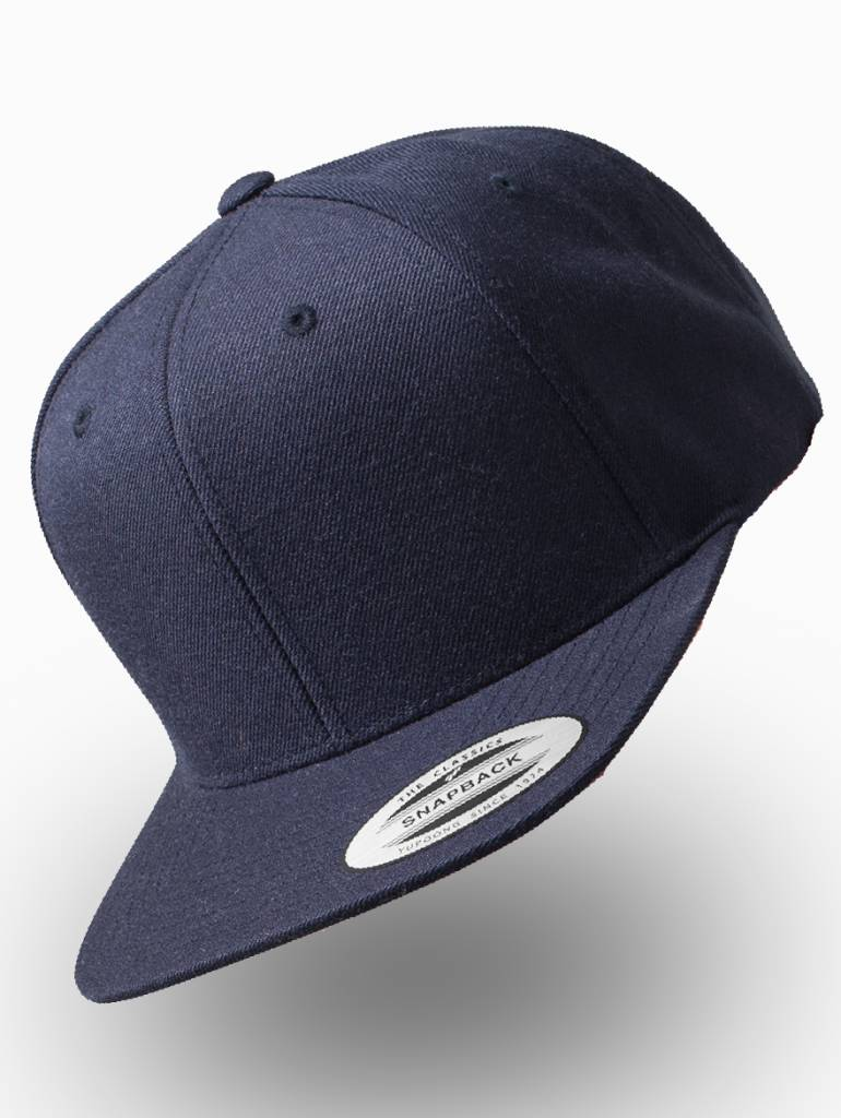 Yupoong Snapback donker blauw