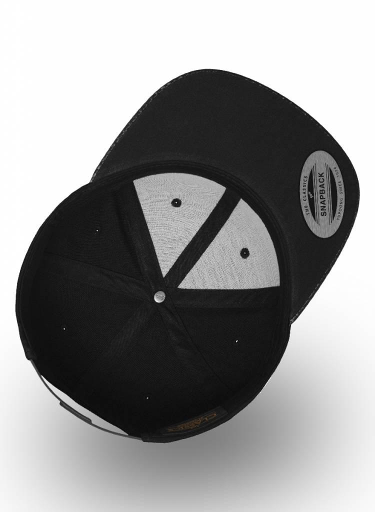 Yupoong Snapback Black Carbon