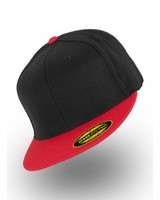 Flexfit by Yupoong Flexfit 210 Fitted Black Red