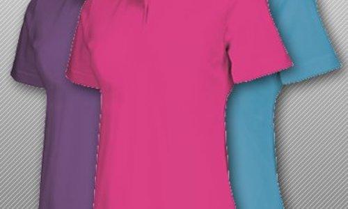 Polo shirt dames katoen