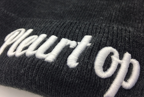 Create! Your text on your beanie