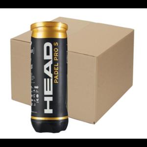 Head Head Padel Pro S Balles de padel (24 * 3 pieces)