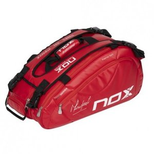 Nox Nox padel bag Lamberti red