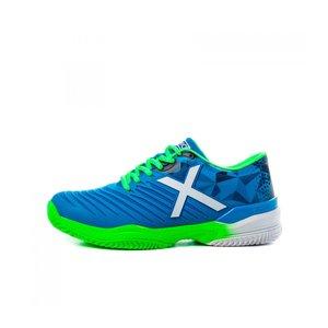 Munich Munich Pad X Blue / Neon Chaussures de padel