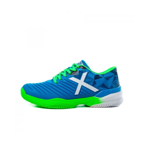 Munich Munich Pad X Blue / Neon Padel Shoes