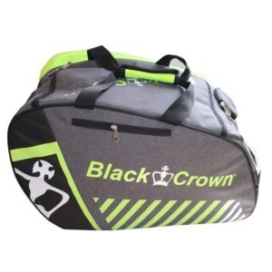 Black Crown Black Crown Padel Tas Grijs / Geel