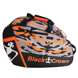 Black Crown Black Crown Camouflage Padel Tas Oranje