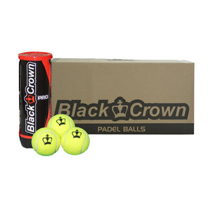 Black Crown Black Crown Balles de padel (24 pieces)