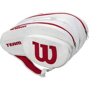 Wilson Wilson Team Padel Tas White Red