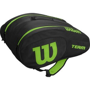 Wilson Wilson Team Padel Bag Black Green