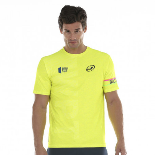 Bullpadel Bullpadel Salbur Yellow Padel T-shirt