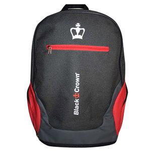 Black Crown Mochila Bit Gris Rojo
