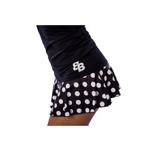 BB by Belen Berbel Skirt Dots Black White