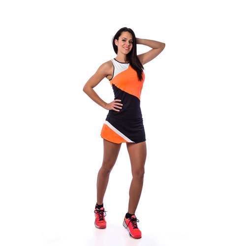BB by Belen Berbel Tank Top Berlin Orange Black