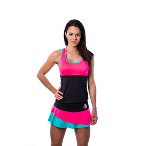 BB by Belen Berbel Tank Top Barcelona Pink Blue