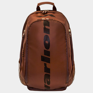 Varlion Brown Ambassadors Leather Bagpack