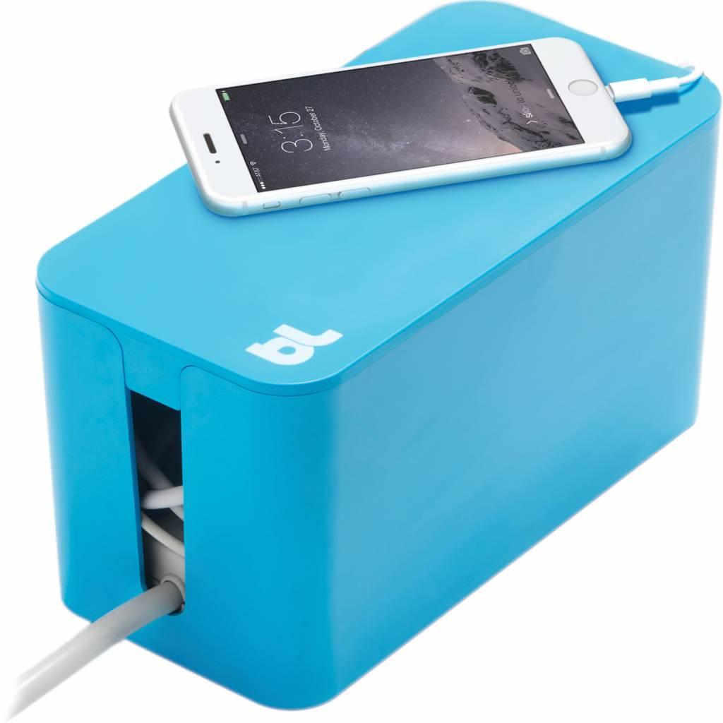 Bluelounge CableBox Mini Blauw