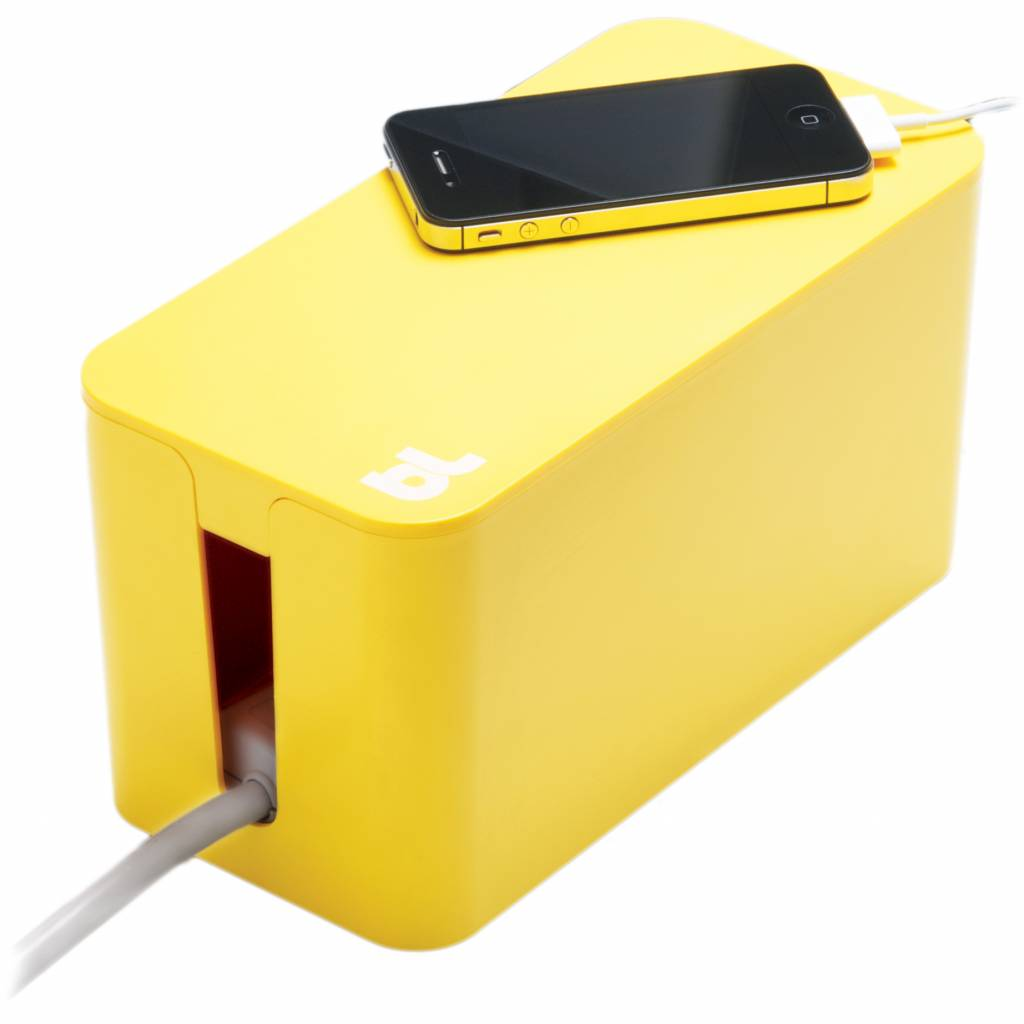 Bluelounge CableBox Mini Geel
