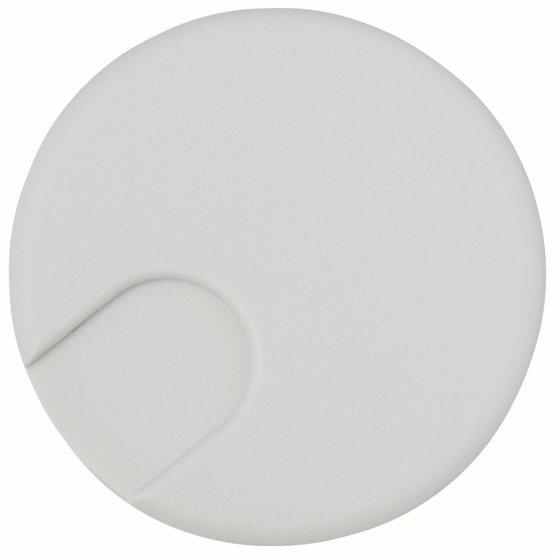 Kabeldoorvoer rond 2-delig afsluitbaar kunststof grijs