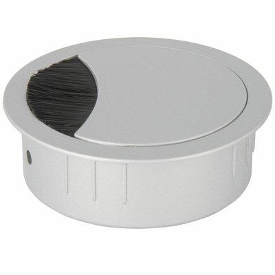 Kabeldoorvoer rond 2-delig metaal