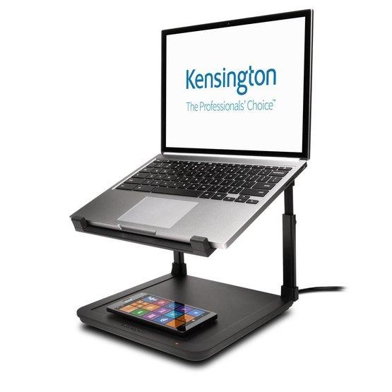 "Kensington SmartFit™ laptopstandaard met draadloze oplader 12""-15,6"""