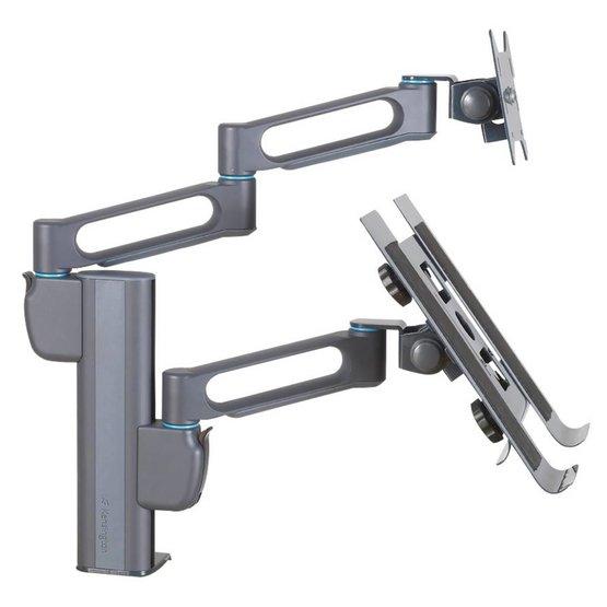 "Kensington SmartFit™ Dubbele monitor arm met laptophouder 10""-17"""