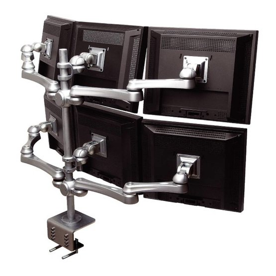 Monitor Arm Base Plus 6 Multi 10-18''