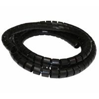 Marker Klittenband Kabelbinders Zwart (10 per stuk)