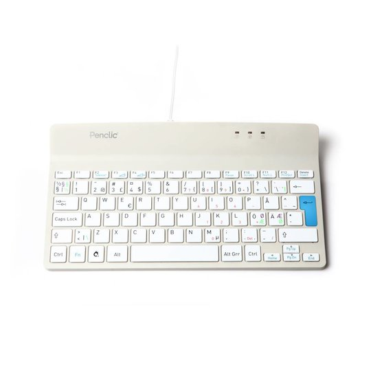 Penclic Compact toetsenbord wit