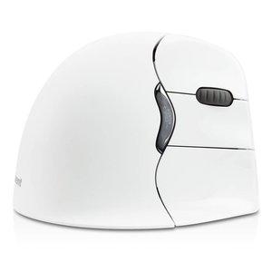 Evoluent VerticalMouse4 Bluetooth rechtshandige ergonomische muis wit