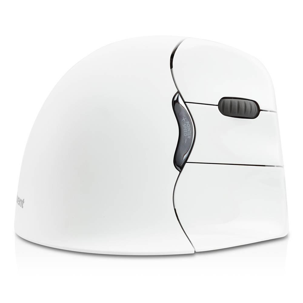 Evoluent VerticalMouse4 Bluetooth rechtshandig wit