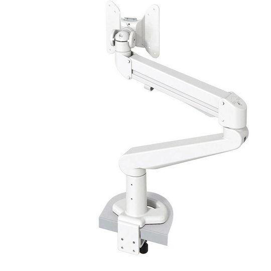 Stockholm gasgeveerde monitor arm wit