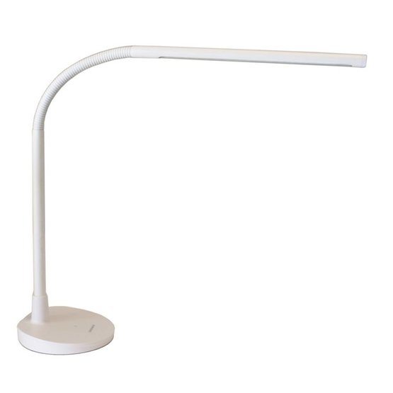 Diasonic LED bureaulamp met USB oplader wit