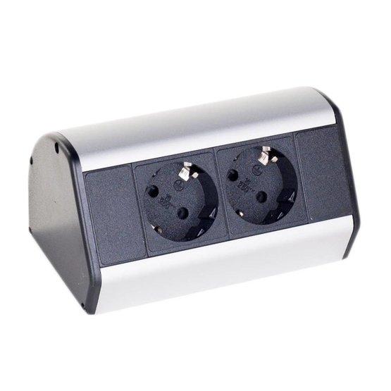 Götessons Office Power Dock stekkerdoos bureau - 2x stroom