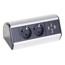 Götessons Office Power Dock USB stekkerdoos bureau