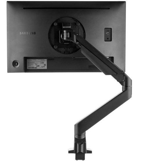 Ergopro monitor arm met gasveer zwart