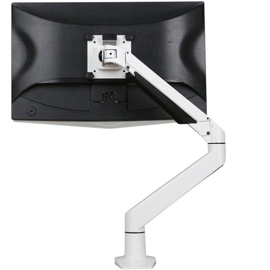Ergopro monitor arm met gasveer wit