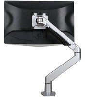 Ergopro monitor arm met gasveer zilvergrijs
