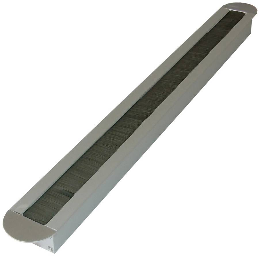 Aluminium Kabeldoorvoer met afgeronde hoeken Smal