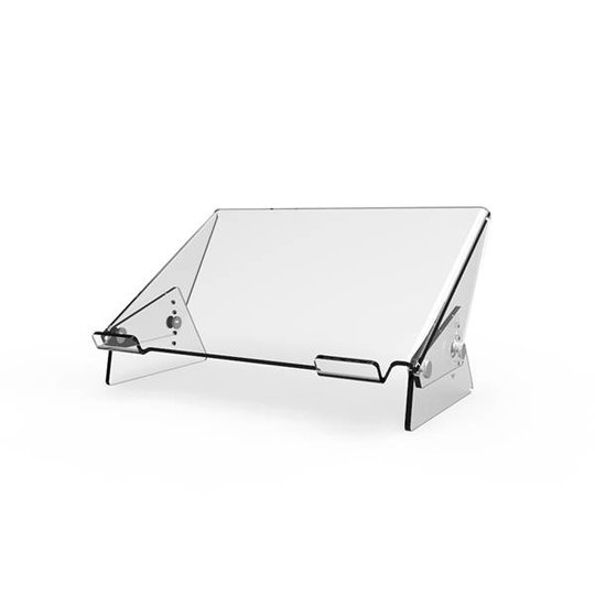 "Crystal acryl laptopstandaard 12""-17"""