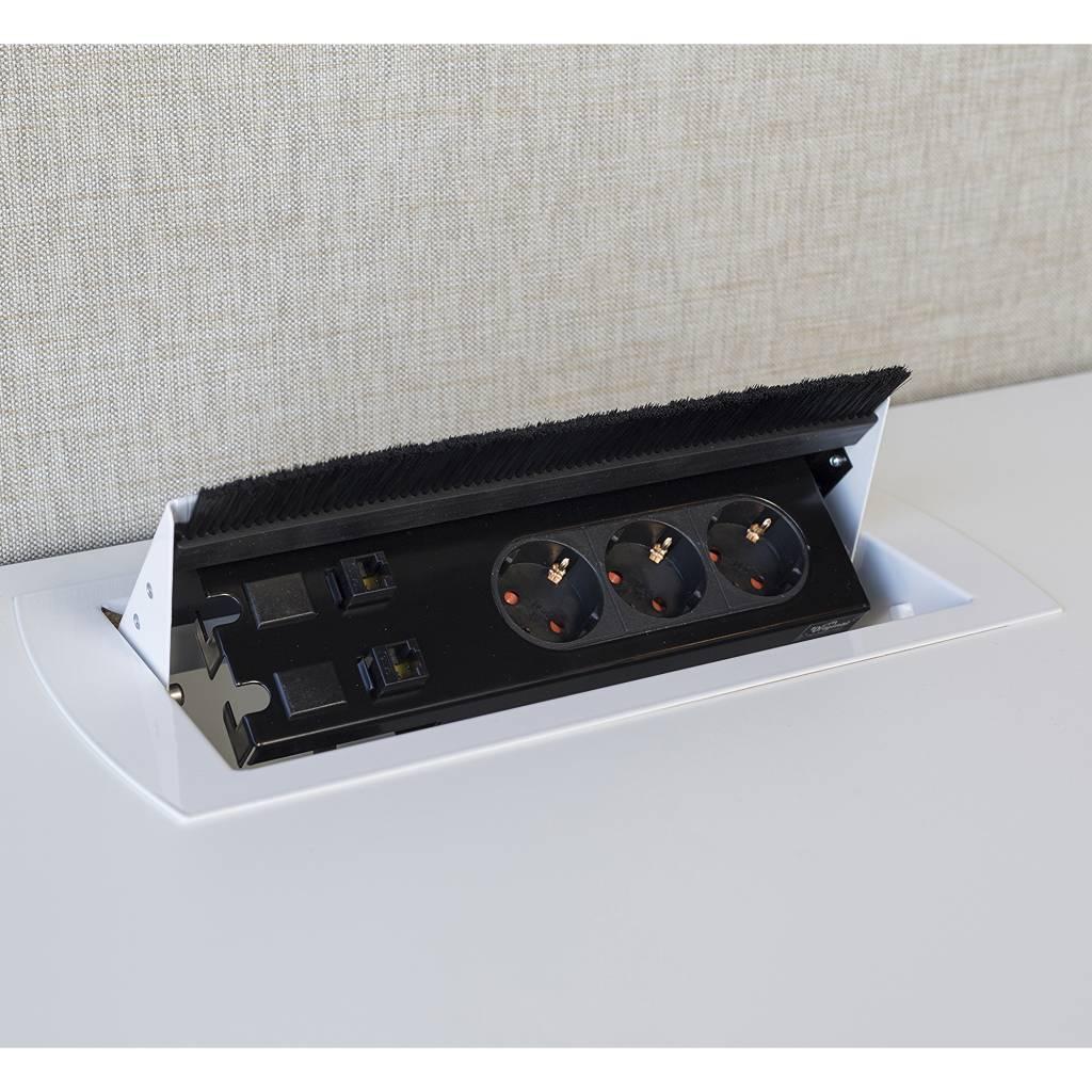 Götessons Powerbox Single Type 1 inbouw stekkerdoos