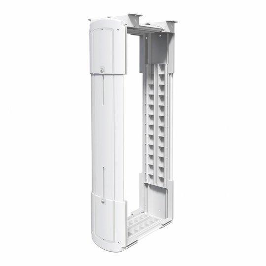 Dataflex Viewlite CPU Houder voor grote computers wit