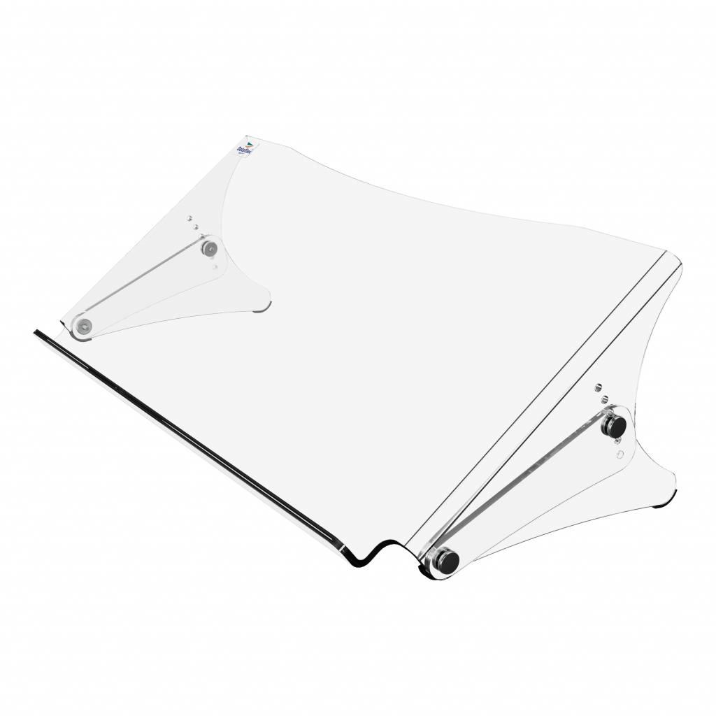 Dataflex Addit ErgoDoc® verstelbare acryl documenthouder
